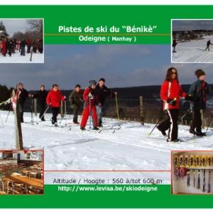 ski de fond , raquettes , ardennen, Langlauf , sneeuwschoenen