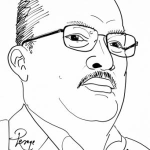 Yvan MICHEL ( caricature JML)
