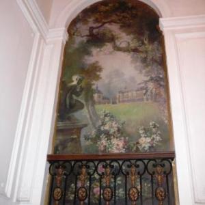 Un des petits balcons interieurs