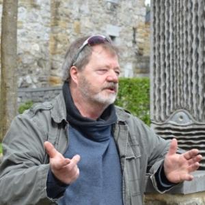 Philippe Ongena, sculpteur comblennois, co fondateur des Symposiums internationaux de sculpture