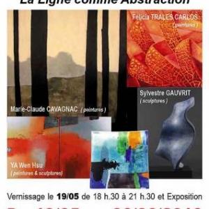 Espace Art Gallery expose Marie Claude Cavagnac, Ya Wen Hsu ,Felicia Trales Carlos,