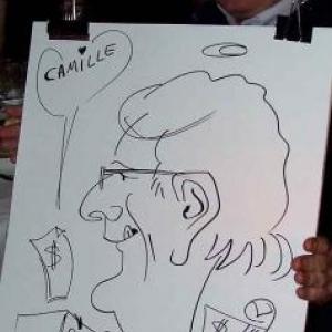 Caricature au Frenchie Restaurant de Luxembourg-7054