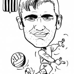caricature RCSC Charleroi