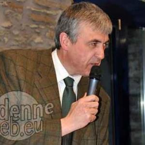 Elie Deblire, representant du Ministre Lutgen et Bourgmestre de Vielsalm