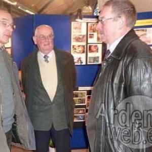 Jacques Tonneau (Coordinateur du CR Vesdre), Dieudonne Randaxhe, et Andre Bodeux
