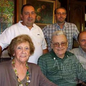 Sergio Moirano et sa femme et ses amis