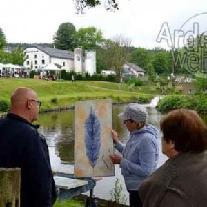 Achouffe, village des artistes 2017-photo 3689