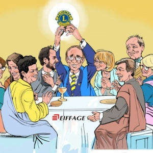 EIFFAGE-caricature-derniere scene LIONS