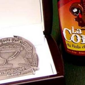 La Corne du Bois des pendus medaille d argent au mondial de la biere de Strasbourg