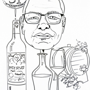 amateur de vin fin,caricature, FIFTY-ONE, Luxembourg