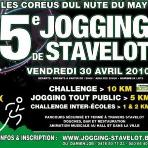 STAVELOT     Jogging de la Nuit de Mai