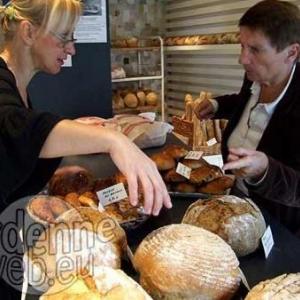 Le véritable pain d'Ardenne au feu de bois de Gautier Piron, de Tavigny.