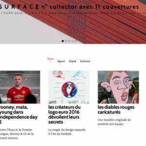 Surface Magazine, la presse en France en parle aussi