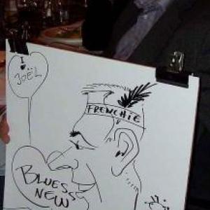 Caricature au Frenchie Restaurant de Luxembourg-7043
