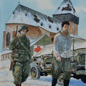 video-Illustration de Philippe Jarbinet pour le Bastogne War Museum