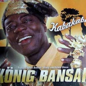 """Le souverain africain """" Céphas Togbui Bansah"""" du Ghana en visite à Longchamps"""