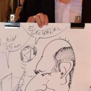 Caricature pour Electrabel-3341