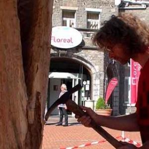 Christophe Deman, sculpteur sur bois