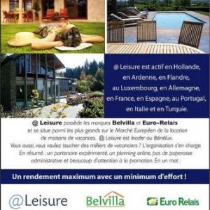 Belvilla Eurorelais en Ardenne : maison de vacances en ardenne, vakantiehuis in ardennen: le meilleur de deux mondes