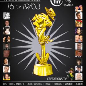 Grandes soirees de Gala du FIRR, 40 ans d'humour belge , Rochefort