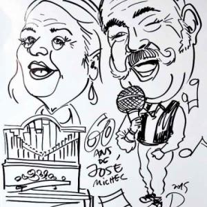 Caricature Jose Michel-4481