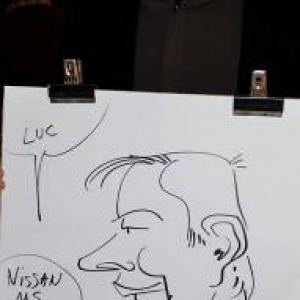 caricature NISSAN Marche - 5842