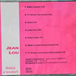 8756 - Bebe s'endort 7 titres 1995