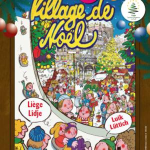 Village de NOEL 2019 de LIEGE
