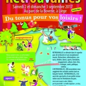 Retrouvailles 2017 au Parc de la Boverie