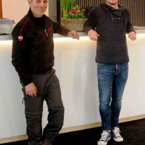 Roger Kockelmann et son fils