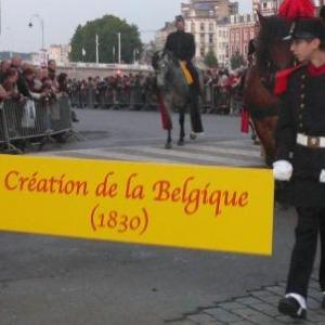 Creation de la Belgique