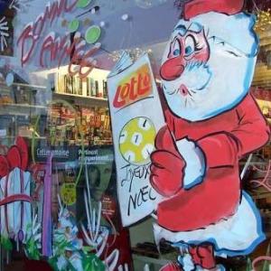 Liege - Peinture sur vitrine pour Noel-7401