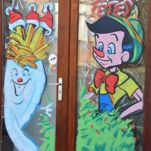 2 portes pour une friterie