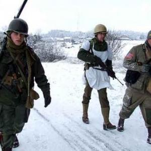 Bihain Marche de la 83eme Division d Infanterie- photo 5569