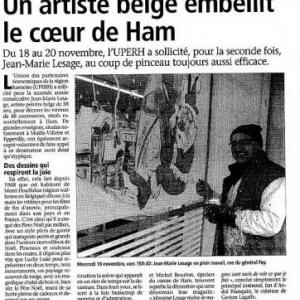 Le journal de Ham du 27 novembre 2008