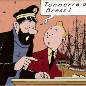 TinTin nouvelle exposition, Tonnerre de Brest