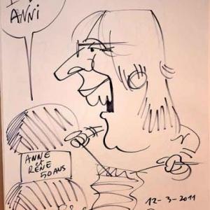 Caricature pour les 50 ans de Anne et Rene-1760