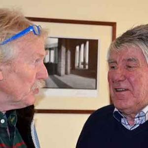 Bastogne Guy Lutgen et Ulrich Weber