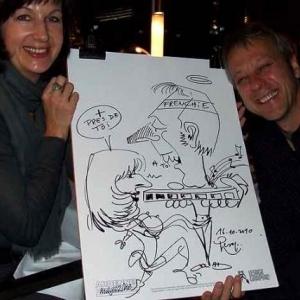 Caricature au Frenchie Restaurant de Luxembourg-7060