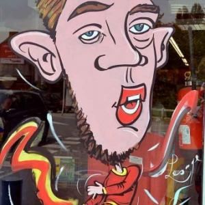caricature Eden Hazard