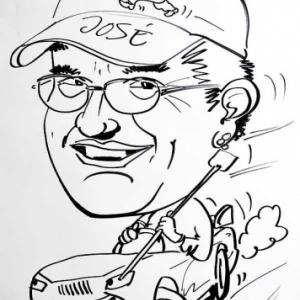 caricature de Jose DEHARD