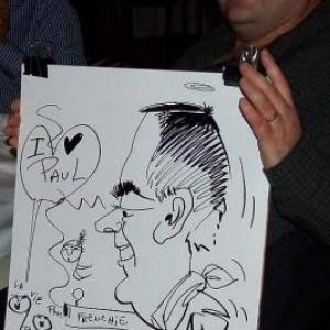 Caricature au Frenchie Restaurant de Luxembourg-7058