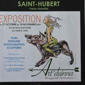 du 27 octobre au 18 novembre 2018.St Hubert une exposition des peintures de Marie-Elise