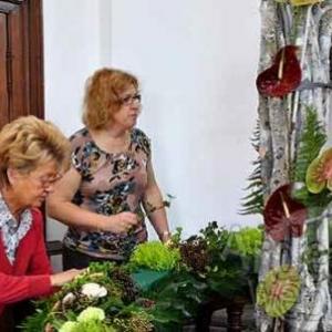 Belgian flower arrangement society -photo 122