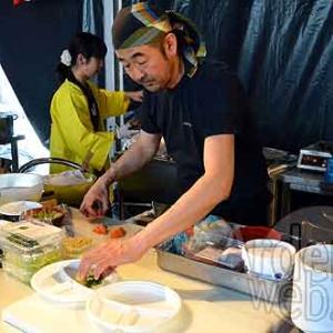 le Chef Nakahara (le Shinano, de Paris) -Epicuriales 2015-photo-5013