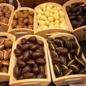 Oeufs de Paques en chocolat - 7444