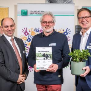 Asbl Les Amis de Jardin'age  Awards de BNP Paribas Fortis Foundation