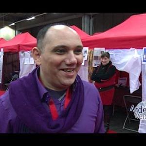 Axel EL JIRIES, organisateur du salon Mysteria