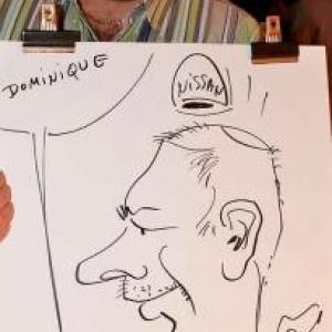 caricature NISSAN Marche - 5832