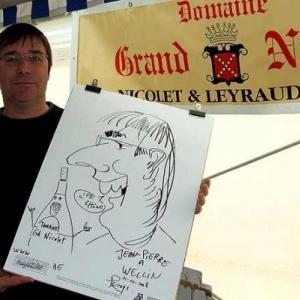 wellin caricature  2745